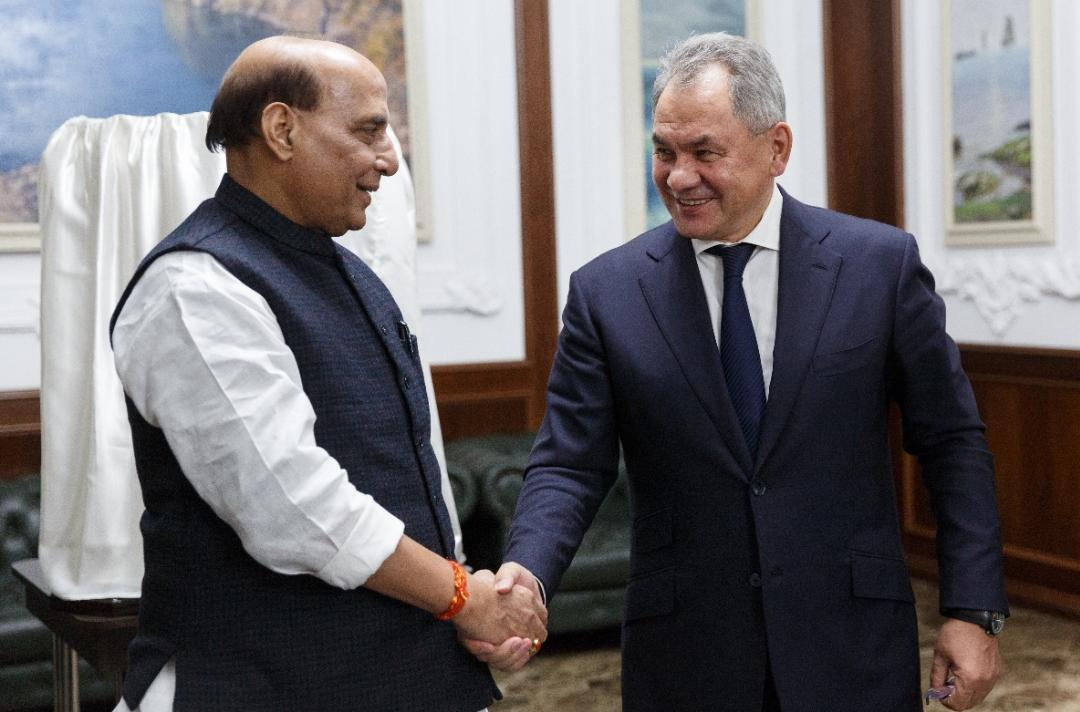 Russia assures full support in enhancing India's defence capabilities