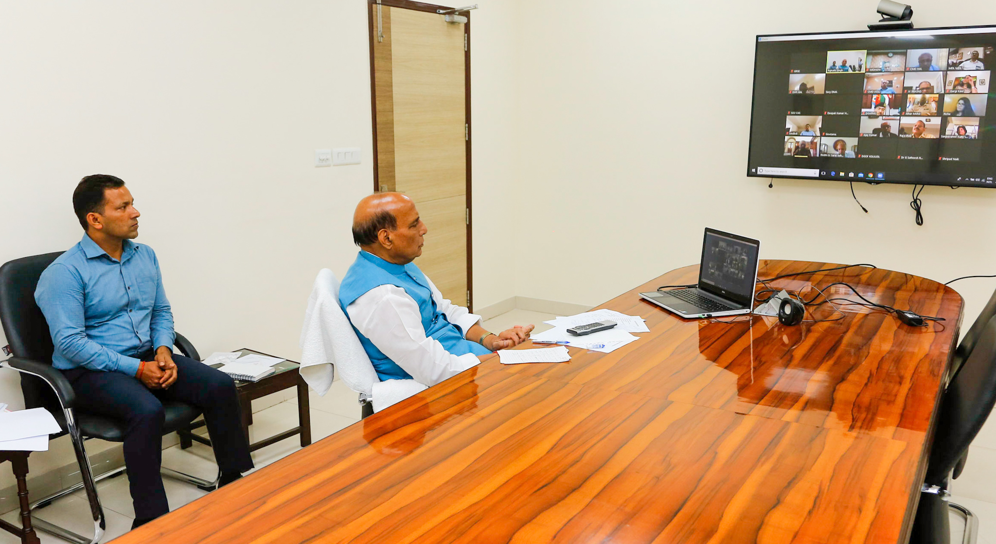 COVID-19: Rajnath Singh directs all organisations to redouble efforts in assisting civilian authorities