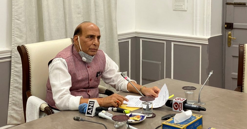 Amid India-China border stalemate: Rajnath Singh reviews security scenario