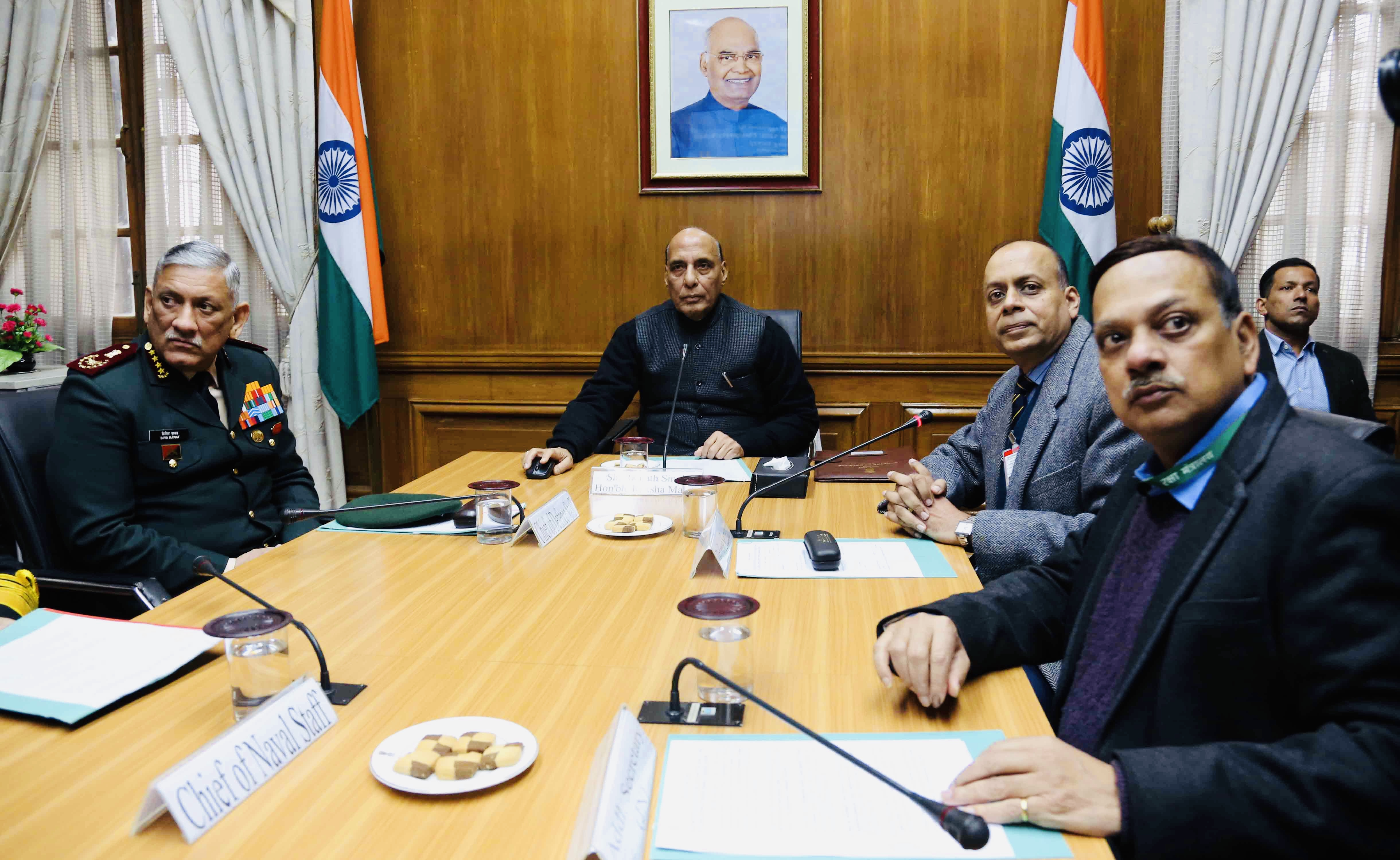Rajnath Singh launches NOC web portal for aerial photography