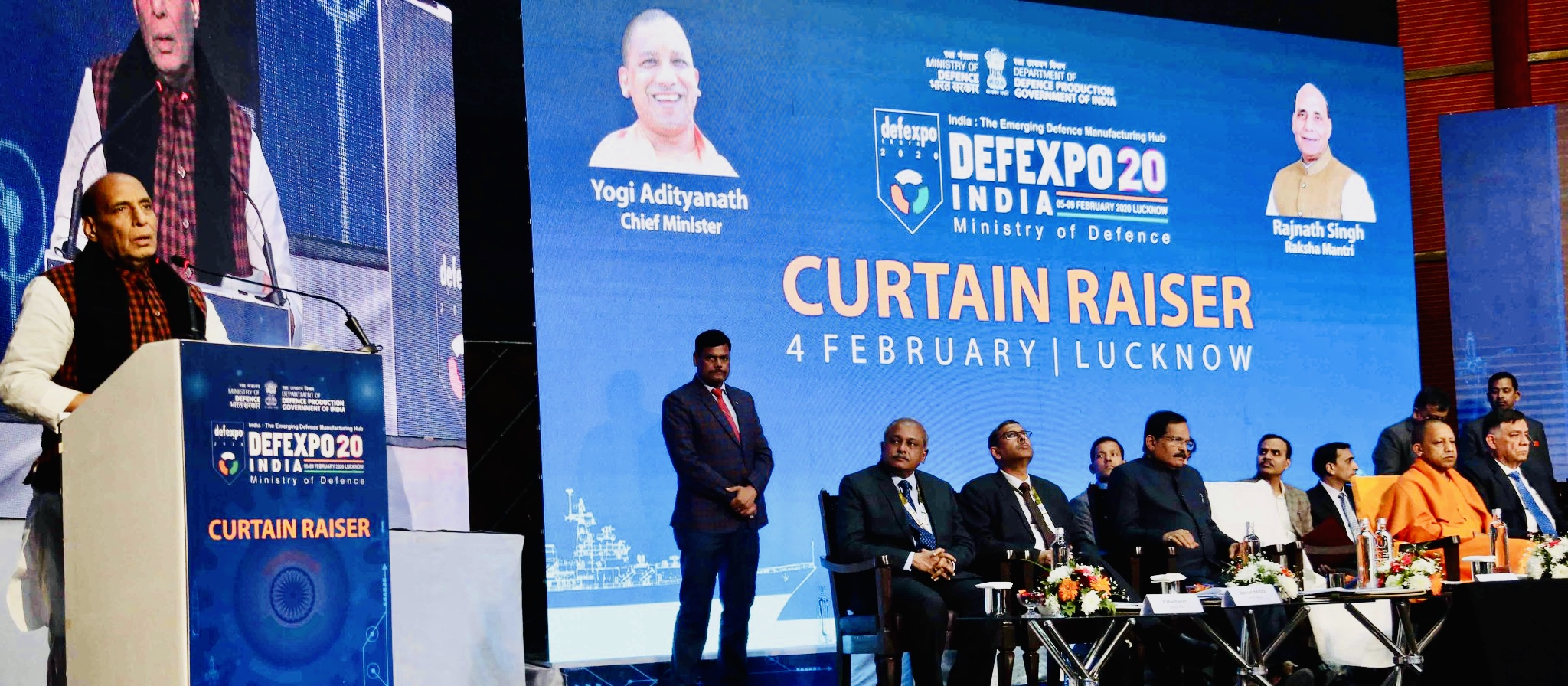 Huge participations in DefExpo 2020 reflects India's Growing Stature: Rajnath