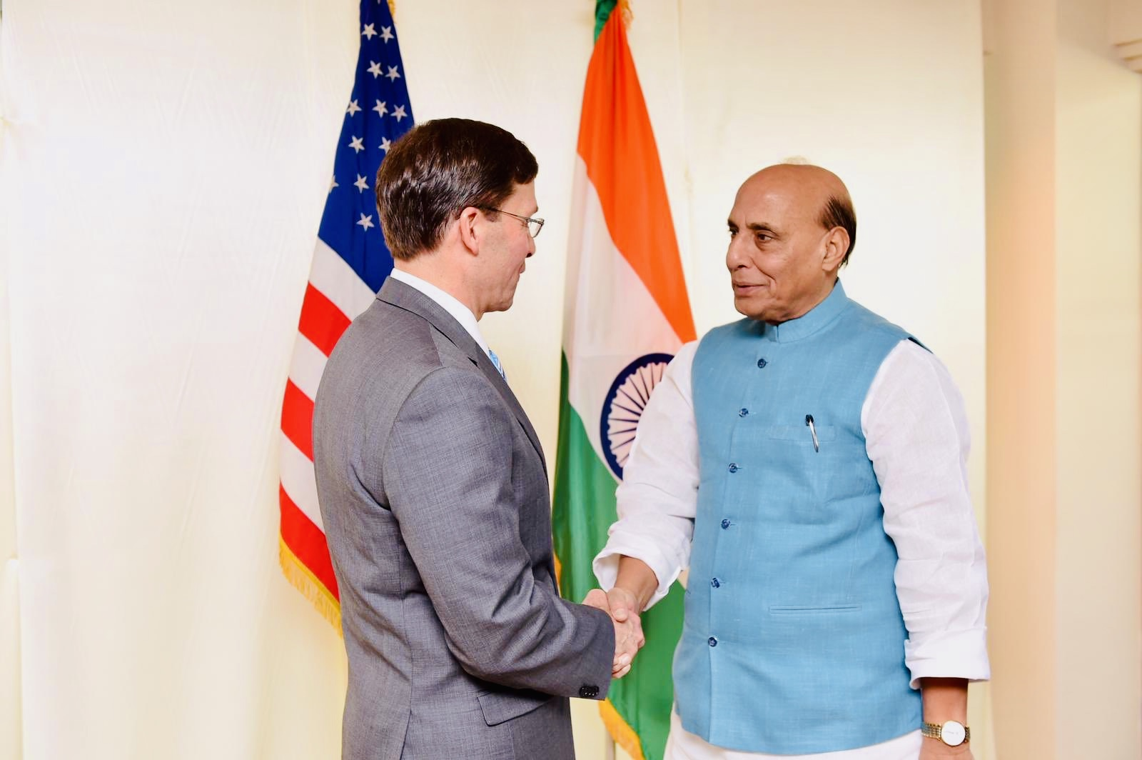 US-Iran tension: Rajnath holds talk with US counterpart
