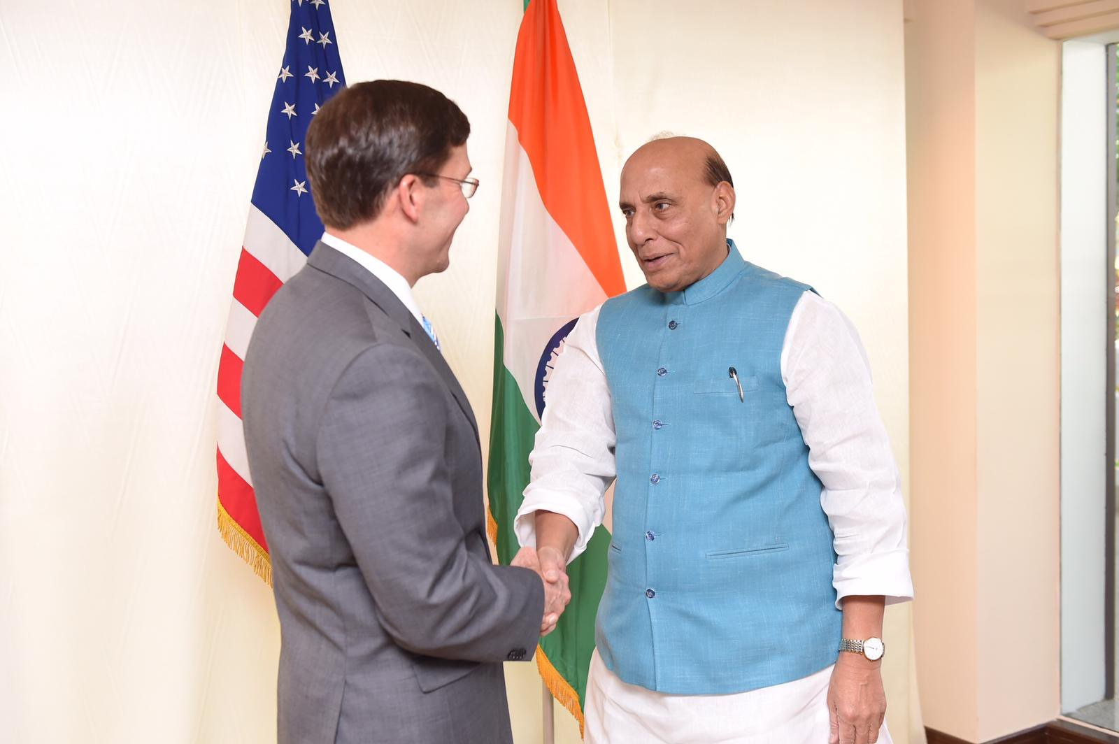 Rajnath, Esper discuss COVID-19; agreed to remain in touch