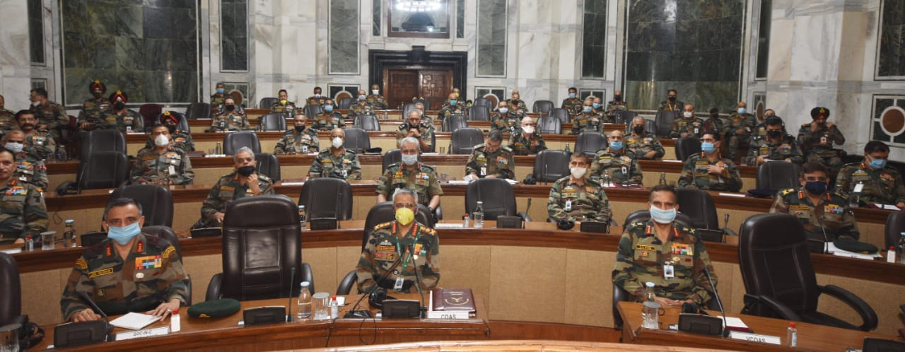 Army Commanders' Conference concludes; discusses face-offs in Eastern Ladakh