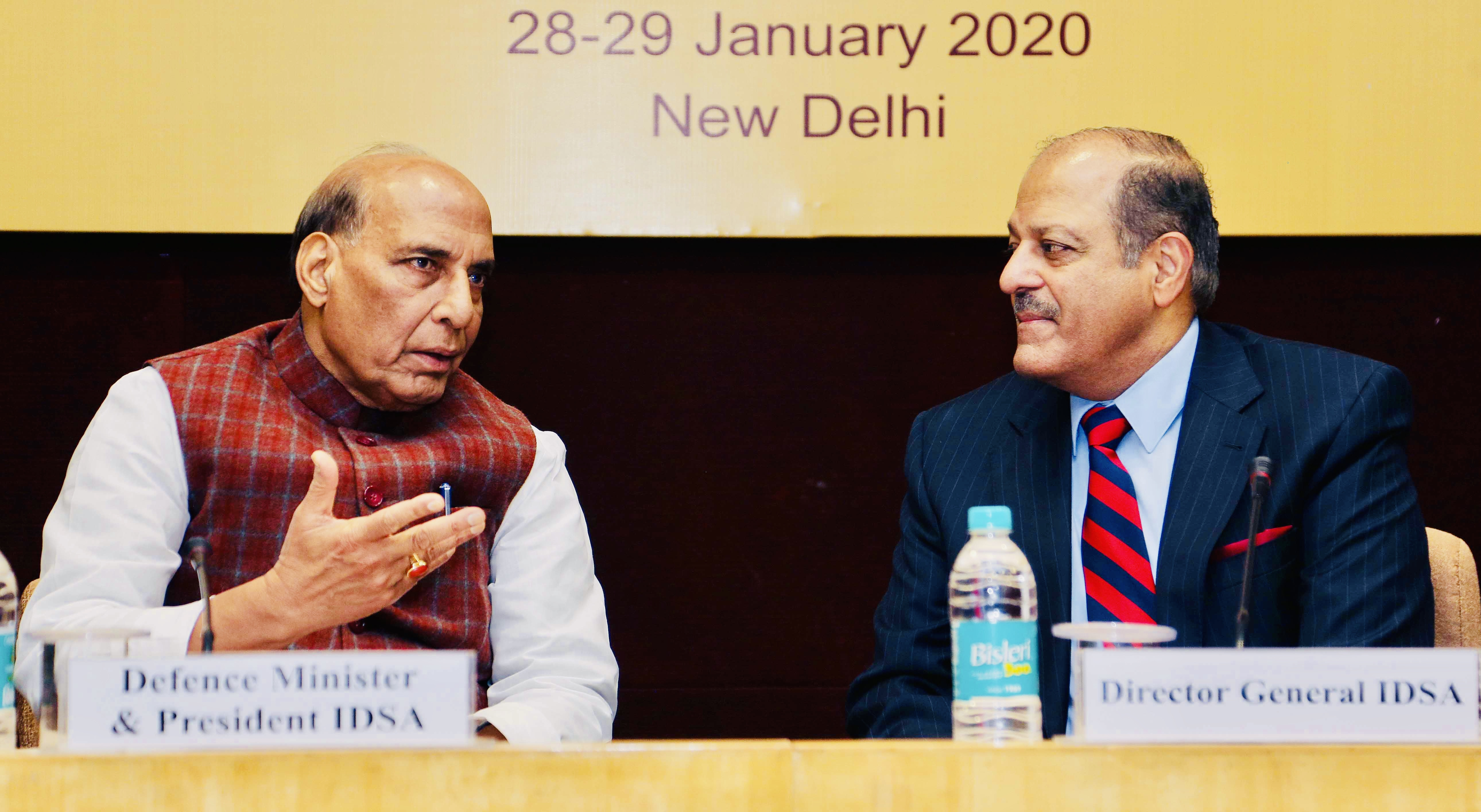 Defence Minister  reaffirms India's firm resolve to tackle cross-border terrorism