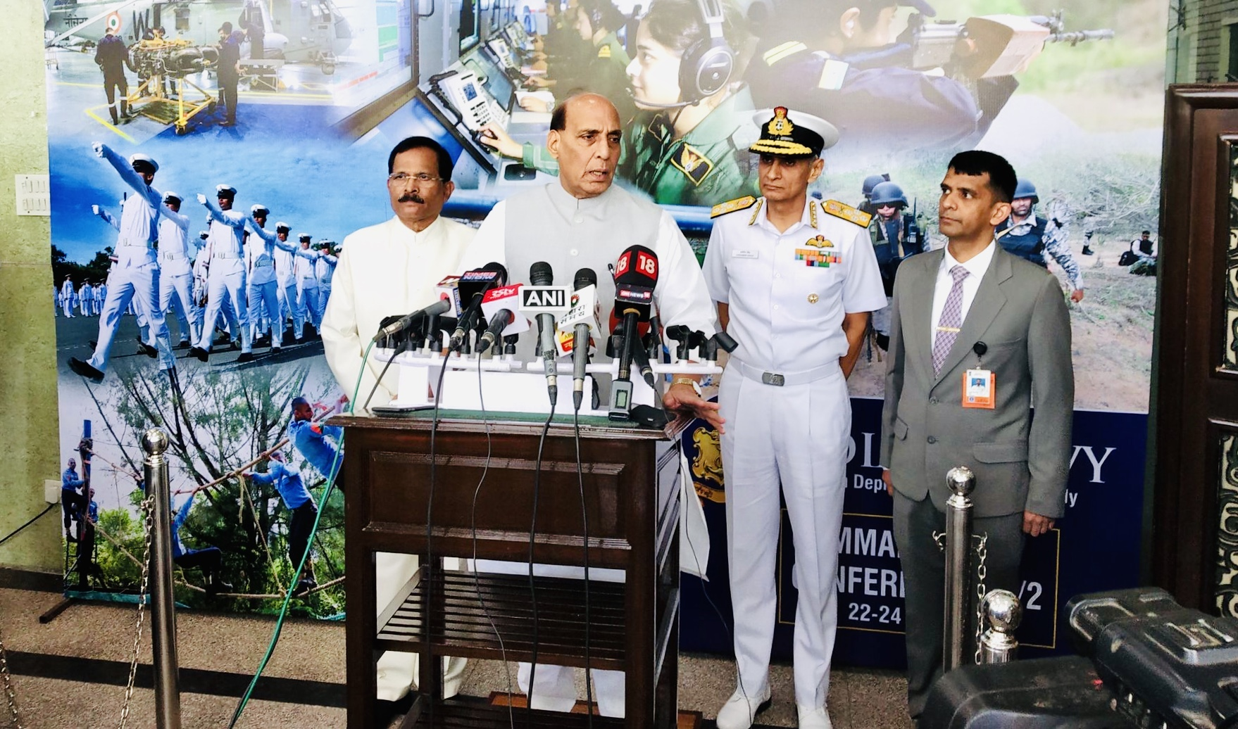 Indian armed forces capable of giving befitting reply: Rajnath Singh