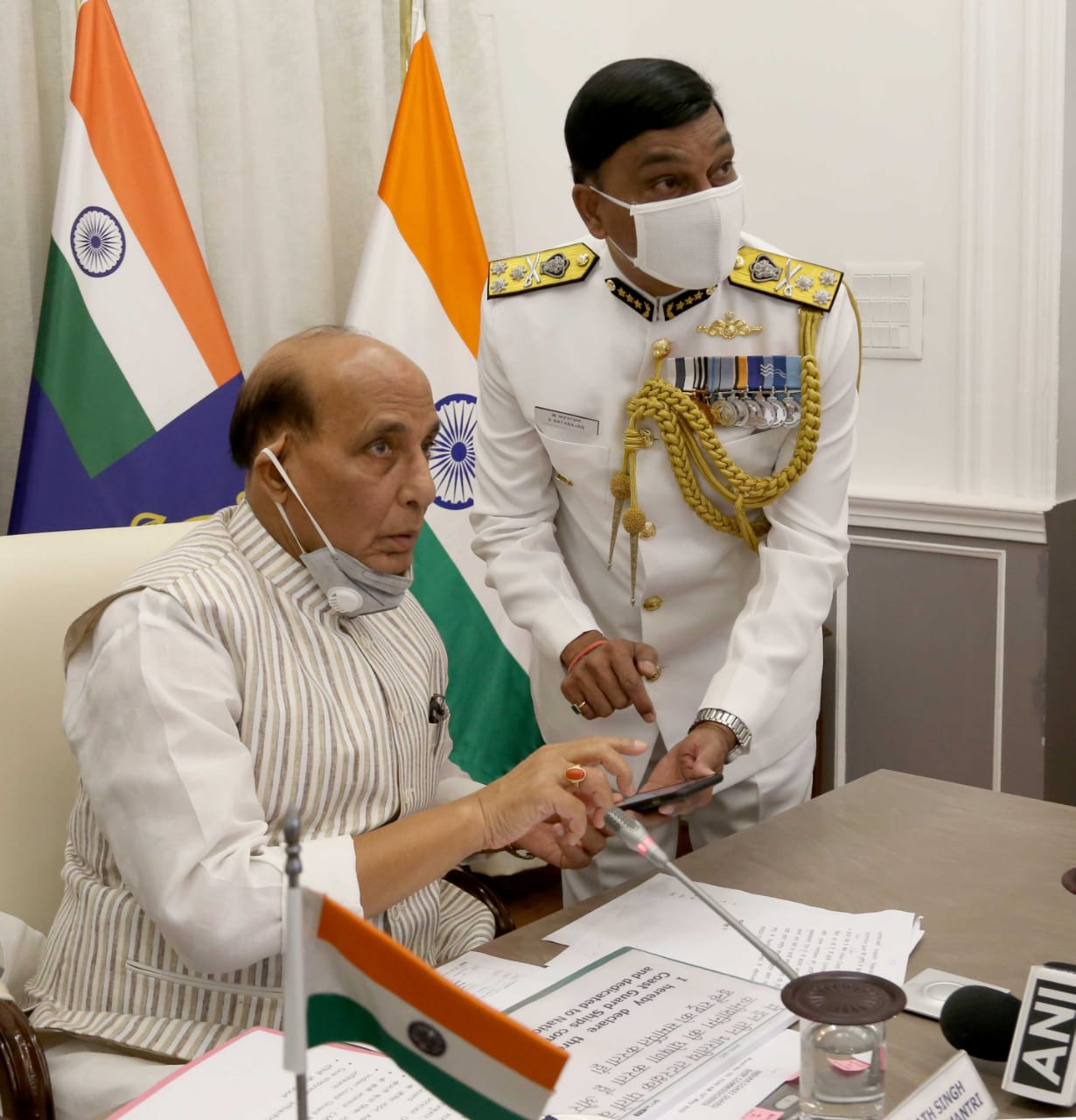 Rajnath Singh commissions ICG's ships digitally; says India is an emerging maritime power