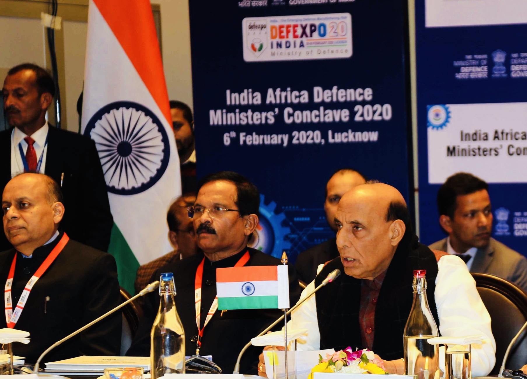 India looks forward for deeper cooperation in defence industry with African nations: Rajnath