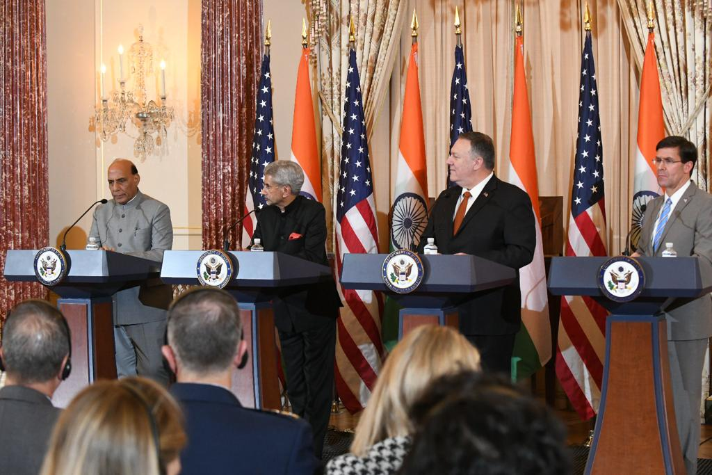 2+2 Dialogue: India, US for further deepen defence ties
