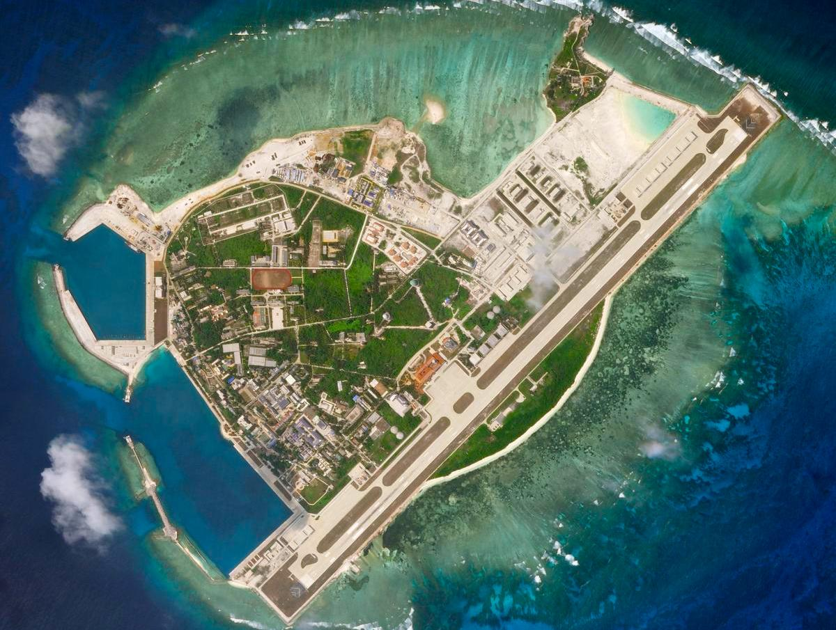 US rejects almost all Chinese maritime claims in South China Sea
