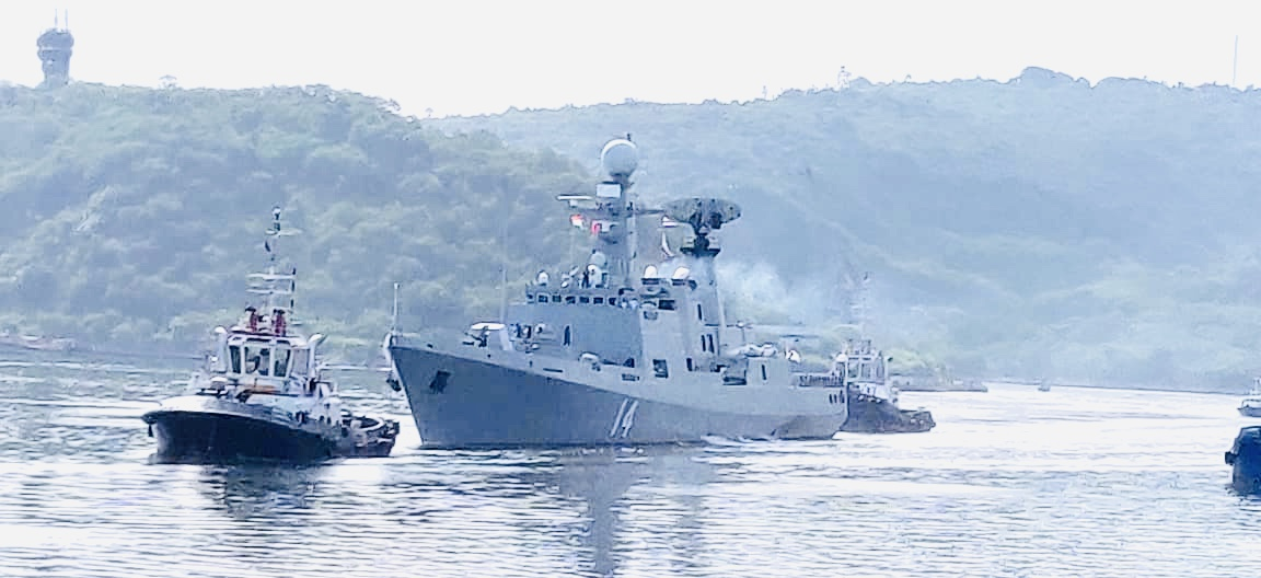 Navies of India and Myanmar commence exercise IMNEX at Visakhapatnam