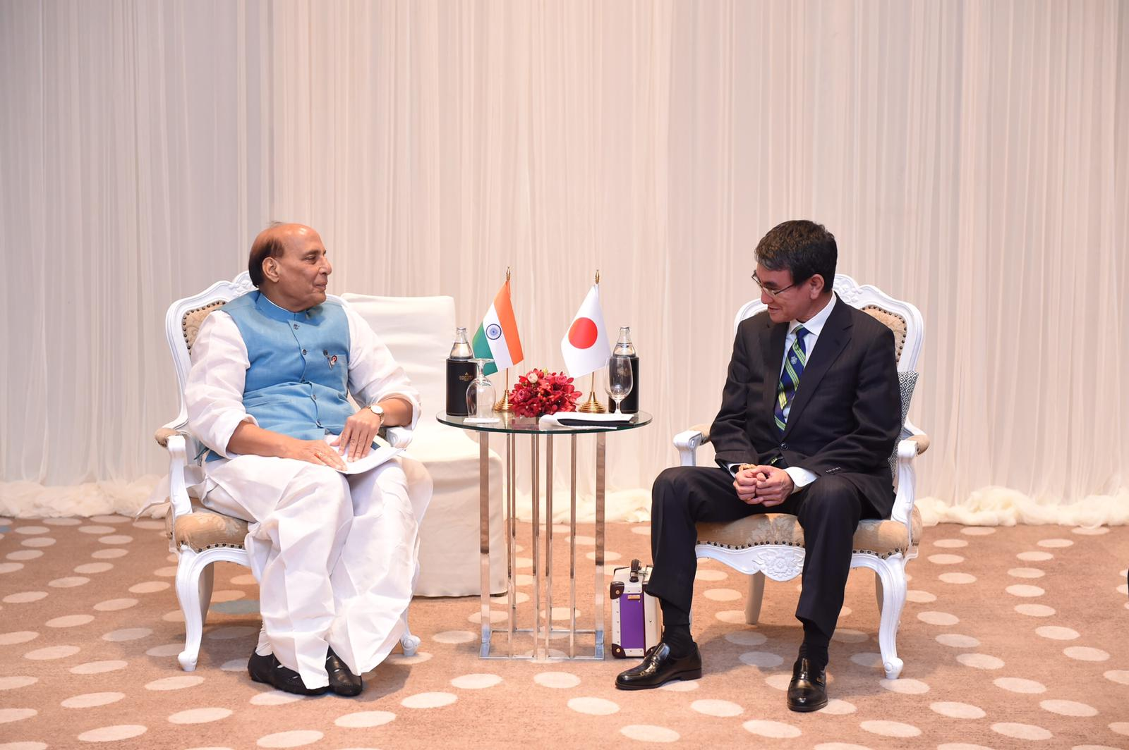 Defence Minister Rajnath Singh holds telephonic conversation with Japanese counterpart