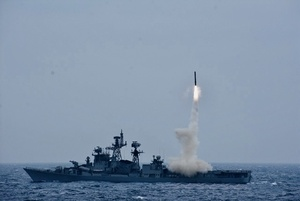 Indian Navy test-fires BrahMos anti-ship missile