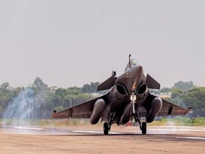 Defence minister Rajnath Singh to formally induct Rafales into IAF on September 10