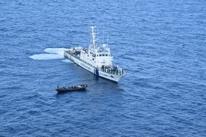 Indian Coast Guard apprehends Burmese fishing boat with 12 poachers
