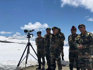 Army Chief Gen Naravane to visit Leh after Commanders' Conference