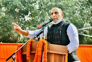 Want to make India a superpower: Rajnath Singh