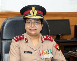 Maj Gen Sonali Ghosal assumes charge as ADG Military Nursing Service