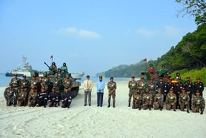 President Kovind witnesses operational demonstration of Andaman and Nicobar Command
