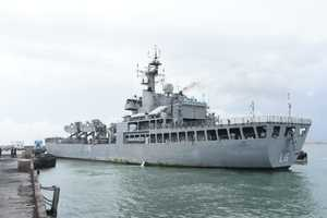 INS Shardul repatriate 233 stranded Indians from Iran