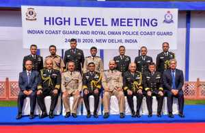 Coast Guards of India and Oman discuss for capacity building