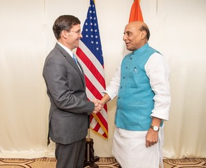 India-China border row: Rajnath Singh discusses bilateral defence ties with his US counterpart