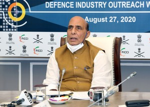 India wants to become self-reliant in defence manufacturing: Rajnath Singh