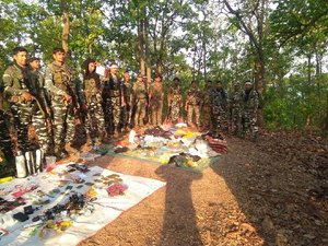 Encounter between security personnel and PLFI in Jharkhand