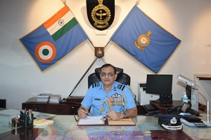 Air Marshal Amit Dev assumes charge as Eastern Air Command AOC-in-Chief
