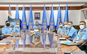 Indian Air Force chief ACM Bhadauria launched mobile application 'MY IAF'