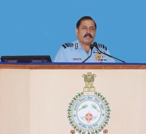 IAF chief ACM Bhadauria sensitise about emerging contours of national security at CAW