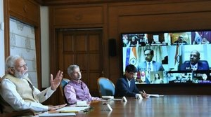 COVID-19: PM Modi interacts with Heads of India's Embassies, High Commissions