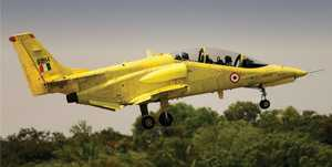 HAL-developed modified IJT commences spin flight-testing
