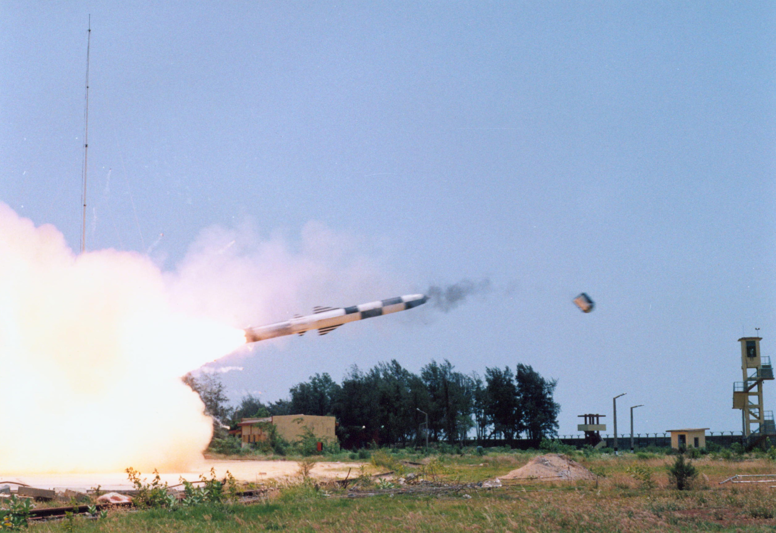 BrahMos successfully test-fired at Odisha coast