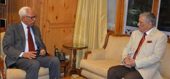 Guv, Army chief discuss security, challenges during operations in Kashmir