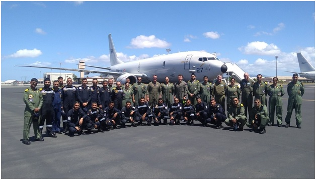 In a first, Indian Navy deploys P8I Aircraft for RIMPAC exercise
