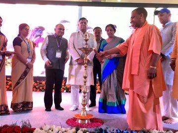 Yogi urges Centre to host Aero India Show in UP