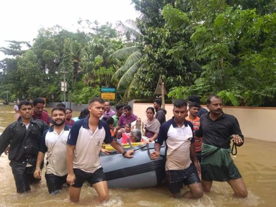 Kerala floods: 'Operation Madad' in full swing, Navy steps up rescue missions