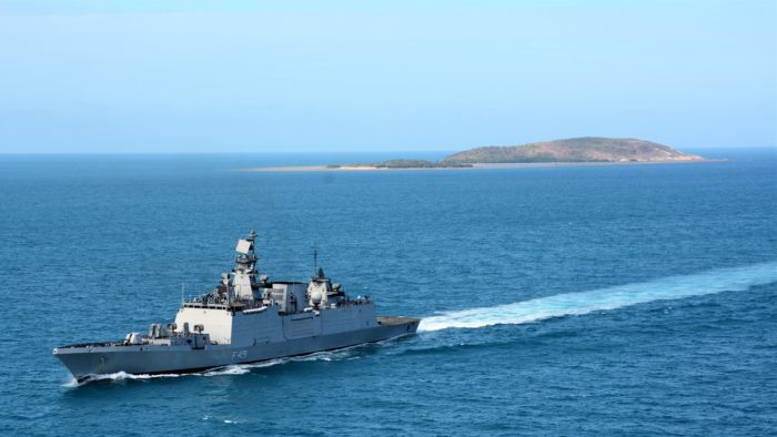 Exercise KAKADU 2018: INS Sahyadri reaches Darwin to participate in multinational naval drill