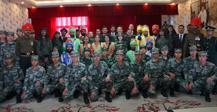 Armies of India and China hold special BPM at Nathu La