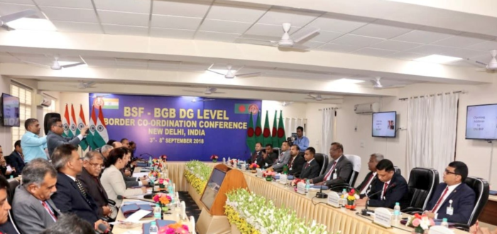 In New Delhi, 47th DG-level talks between BSF and Bangladesh's BGB begin