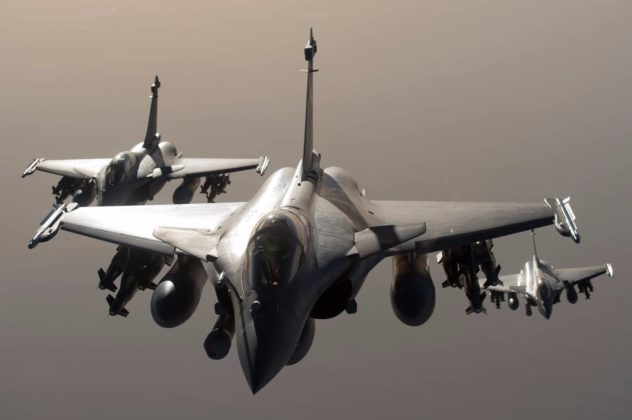 Raging row aside, three French Rafales in India for drill