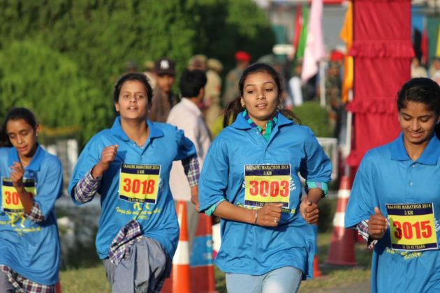"""Army conducts """"Rajouri Marathon"""" for peace and harmony in J&K"""
