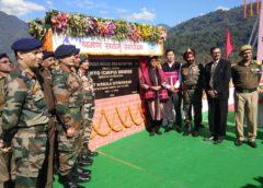Sitharaman dedicates Diffo bridge in Arunachal Pradesh to nation