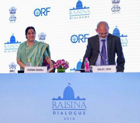 India contributing to global peace: Swaraj