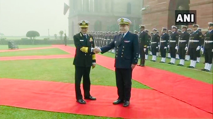 French Naval Chief to discuss bilateral naval issues with Adm Lanba