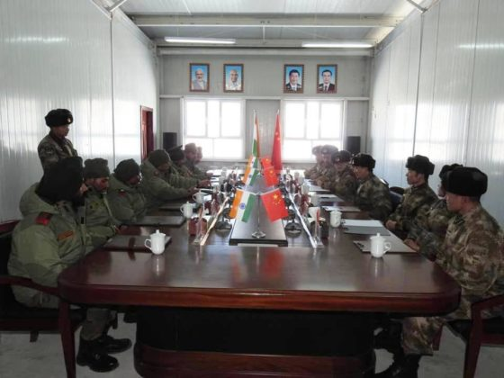 Indo-China BPM held on China Spring Festival at eastern Ladhak
