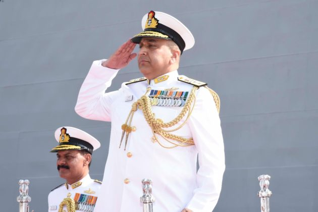 Rear Admiral Suraj Berry takes charge as ENC Flag Officer Commanding