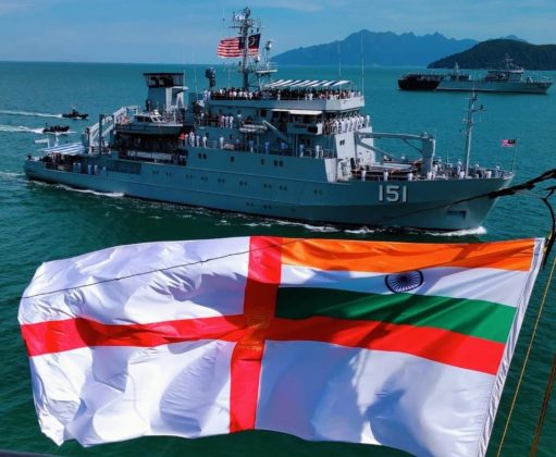 LIMA 2019: Indian Navy's ship Kadmatt participates in IFR