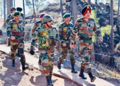 Northern Command GOC reviews operational preparedness of Army in Rajouri and Reasi sectors